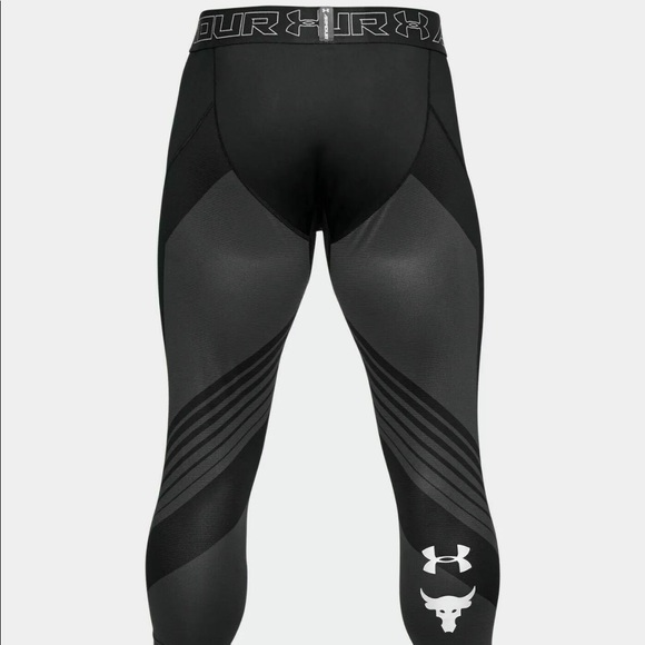 Under Armour Project Rock 3//4 Compression Tights NWT Size M $60